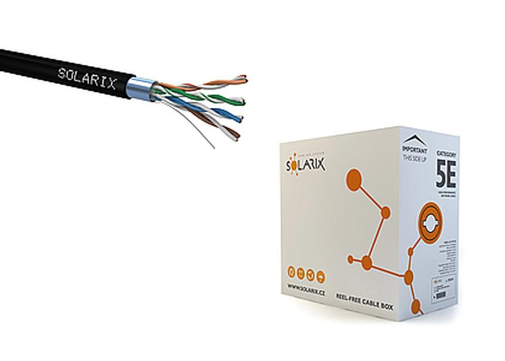 Sieťový kábel vonkajší FTP PE CAT5E 305m