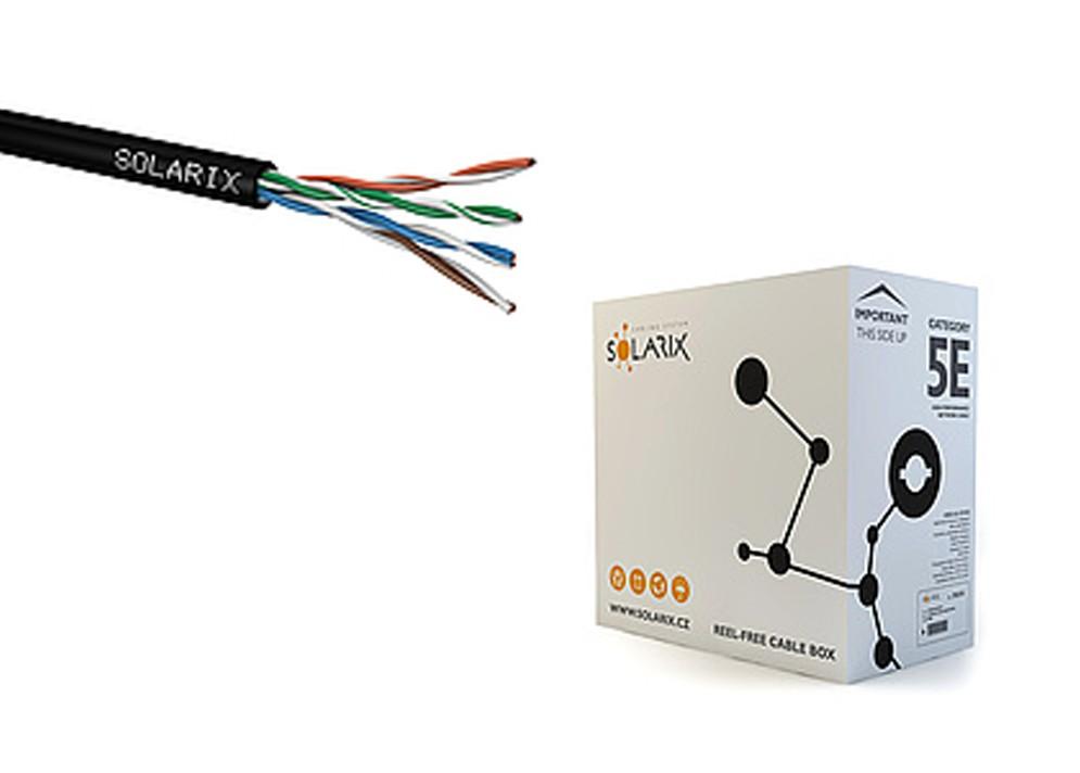 Sieťový kábel vonkajší UTP PE CAT5E 305m