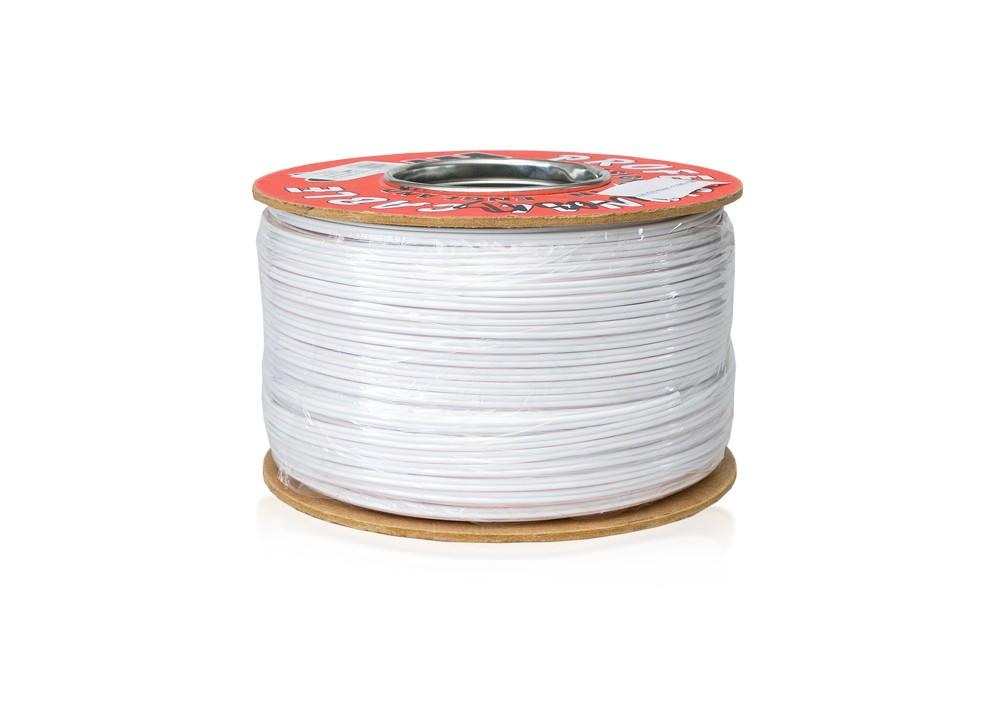 Kábel dvojlinka 2 x 0,50 mm, biely