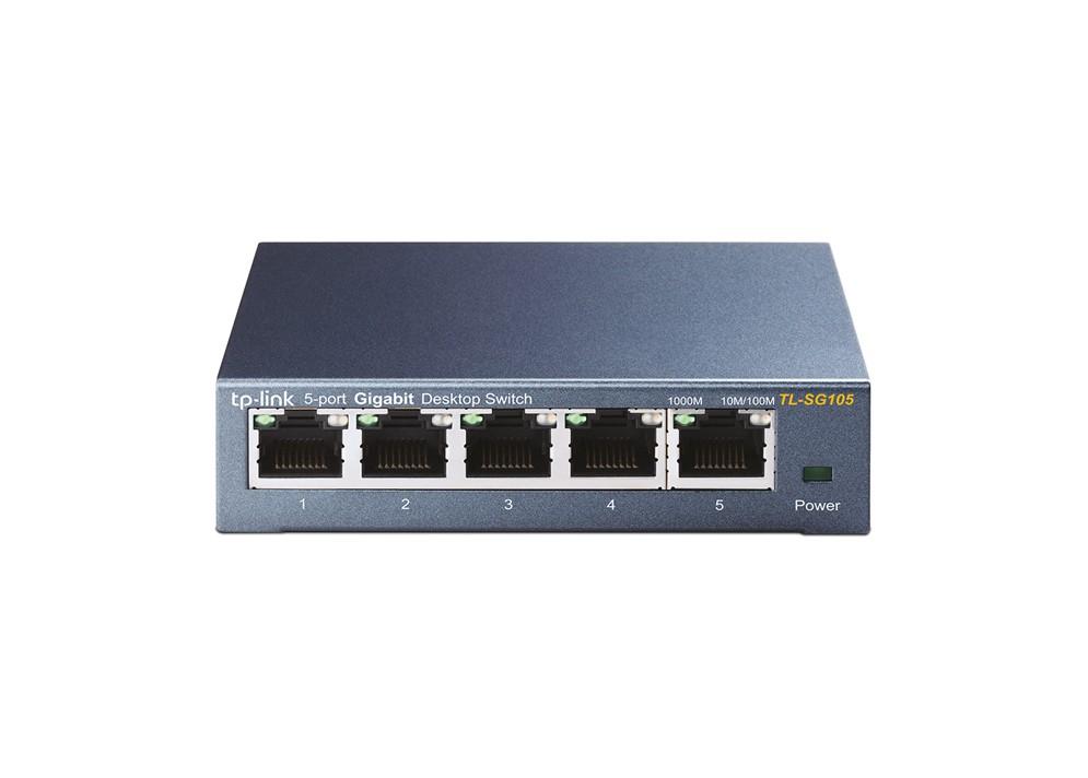 SwitchTP-Link TL-SG105 5-Port/1000Mbps/Desk