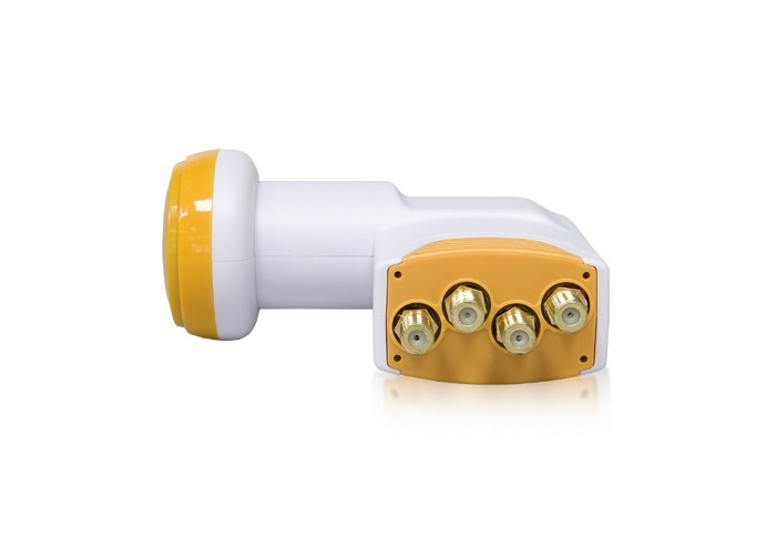 LNB Golden Media GM204+ Quad High Gain 0,1dB