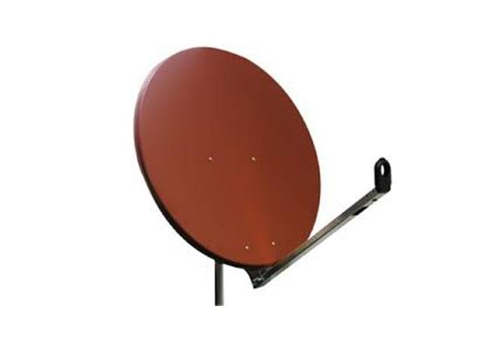 Satelitná parabola Gibertini 85 Al červená