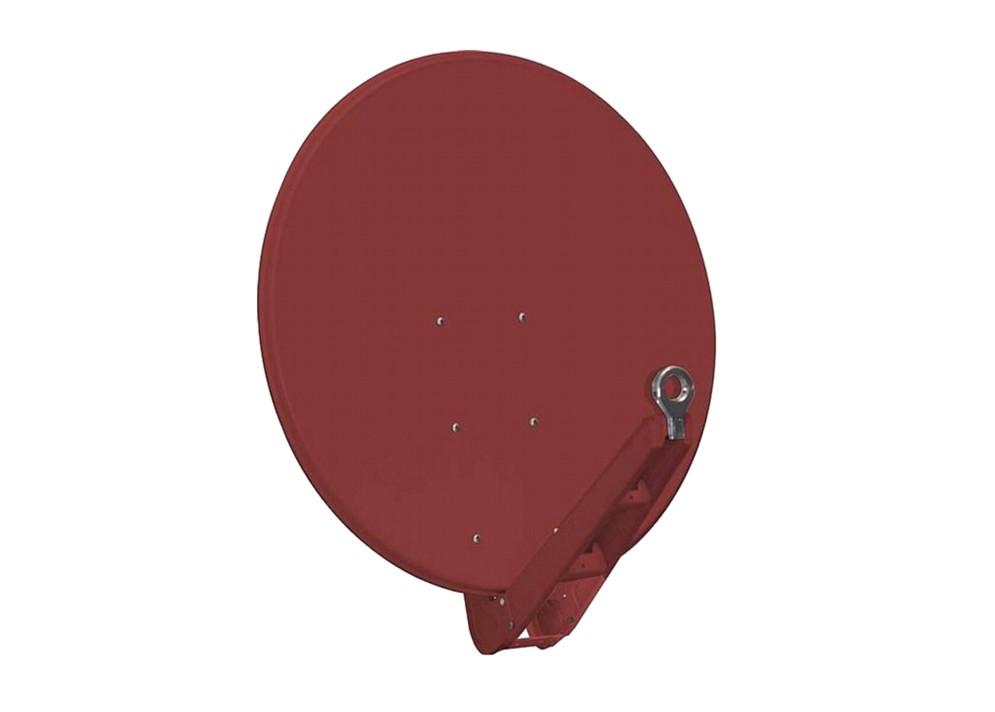 Satelitná parabola Gibertini 100 SE Al červená