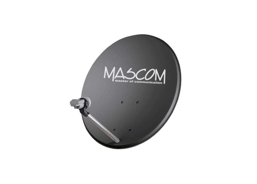 Satelitná parabola Mascom 85 Al Antracit
