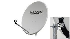 Satelitná parabola Mascom 80 Fe