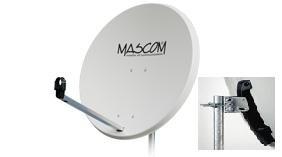 Satelitná parabola Mascom 85 Fe